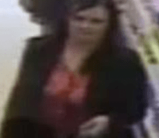 an image of a woman has been released by officers investigating a report of theft in canterbury