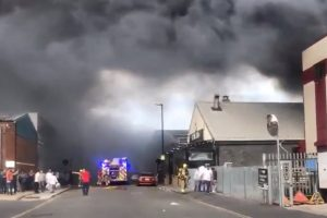 eighty firefighters sent to tackle blaze at park royal bakery and restaurant