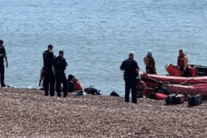 eleven people have been arrested in relation to illegally facilitating migrant crossings of the channe