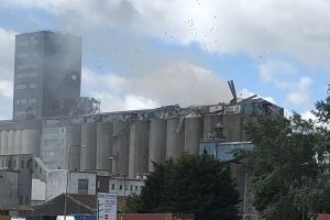 fire crews called to explosion at tilbury docks in essex