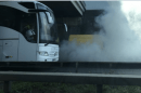 Fire crews called to vehicle a blaze on the M2 Motorway in Kent