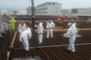 First concrete pour a solid sign work is back on at Sellafield