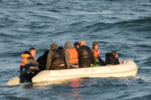 french authorities have returned 21 migrants to france caught in the channel