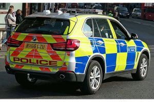man arrested after two sawn off shotguns found in stolen vehicle that crashed in bromley