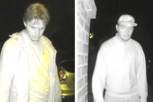 officers have released images of two people who may have important information about a series of thefts in tunbridge wells