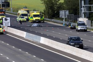 the m23 and part of the m25 has been closed in both directions following a fatal collision on the new section of smart motorway 2
