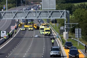 the m23 and part of the m25 has been closed in both directions following a fatal collision on the new section of smart motorway 5