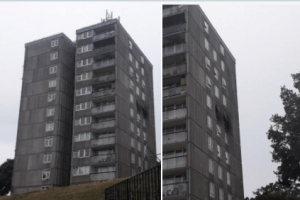 tumble dryer thought to be cause of flat fire in plumstead that saw 30 people evacuated