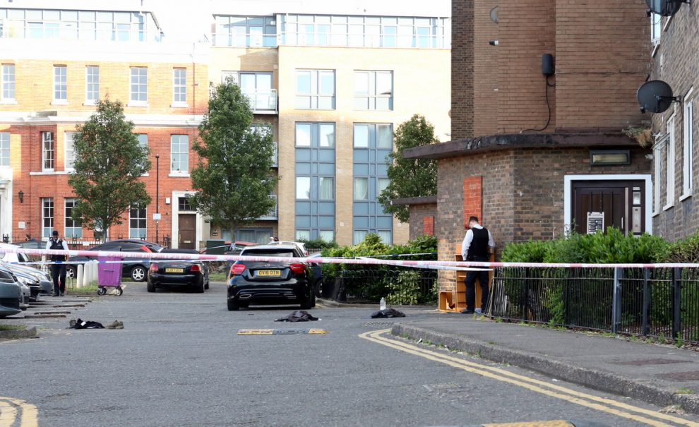 two bangladeshi teenagers stabbed by a group of black boys on east london estate