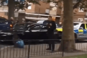two men have been charged after officers seized a firearm in southwark