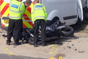 white van man horror crash on the holiday bypass in kent