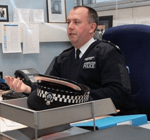Chief Superintendent given management advice after relationship became personal