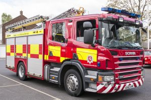 fire crews called to kitchen alight in tunbridge wells
