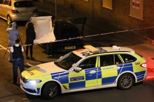 four arrested after handgun is found in a vehicle in south east london