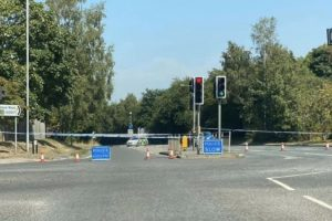 four vehicle collision closes pembury by pass