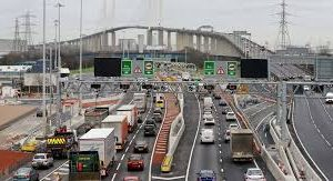 long delays on the dartford crossing after vehicle breakdowns