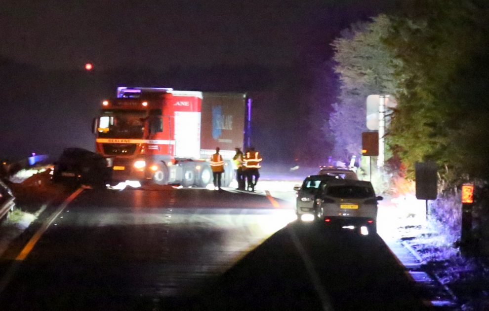 M2 motorway closed London bound following serious life changing collision