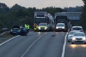 m2 motorway remains closed london bound following fatal collision 6