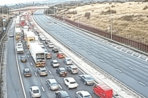 m25 closed in both directions between j23 and j21 following serious incident 2