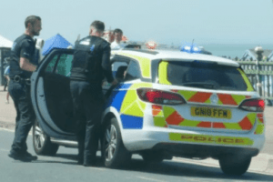 man airlifted after margate seafront stabbing