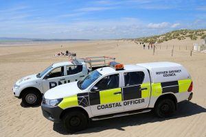 no party at camber say police and council