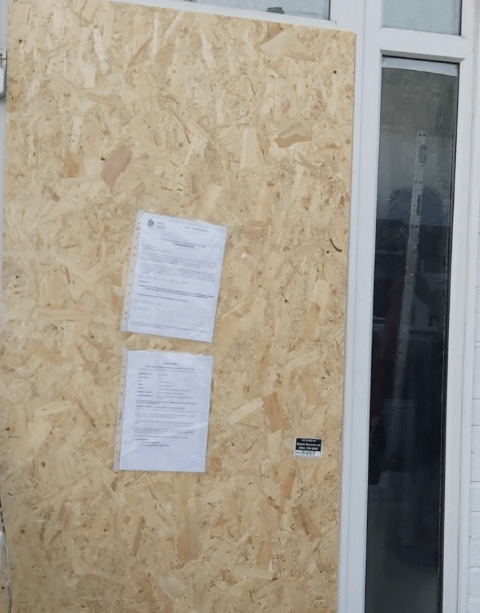 repeated incidents of antisocial behaviour have led to a gillingham home receiving a closure order