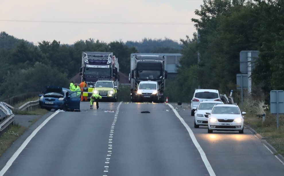 Rochester man arrested after driver is killed on the M2 near Sittingbourne