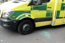 Scumbag attacks Ambulance on an emergency called in Erith stealing Paramedics belonging