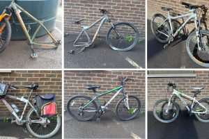 the owners of six bicycle which police suspect have been stolen in thanet being asked to come forward