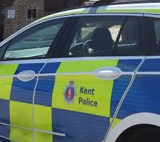two arrests have been made by officers investigating an assault in charing