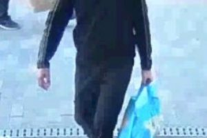 a man entered the co op in week street he placed a number of meat items in a bag then left the premises without paying