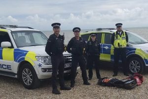 a new initiative will see officers from the civil nuclear constabulary cnc joining kent police in patrolling lydd and new romney