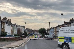 a woman has arrested on suspicion of gbh with intent after a stabbing in bromley
