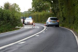a260 in denton closed following serious collision