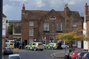 armed police called after a report was received that a woman was being held captive at a property in canterbury