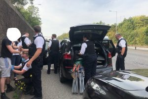 during the three day operation officers used automatic number plate recognition anpr and intelligence to target vehicles linked to violent crime