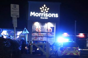 emergency services called to morrisons in maidstone after suspected heart attack