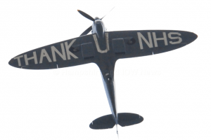 eyes to the skies this weekend as the thank nhs spitfire passes over the south and the west country 2