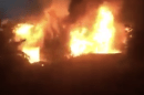 fire crews tackle blaze at derelict property in whitstable