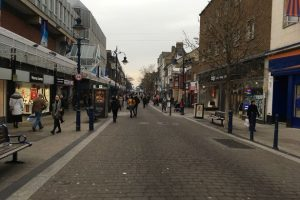man charged after robbing group with a knife in gravesend high street