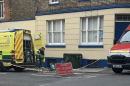 man remains in hospital following an industrial accident at former ramsgate police station site