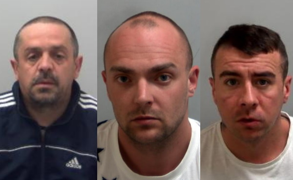 men jailed after thousands in drugs and cash found