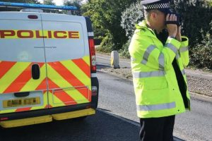 nine motorists were issued with traffic offence reports for speeding with the highest speed recorded being 52mph