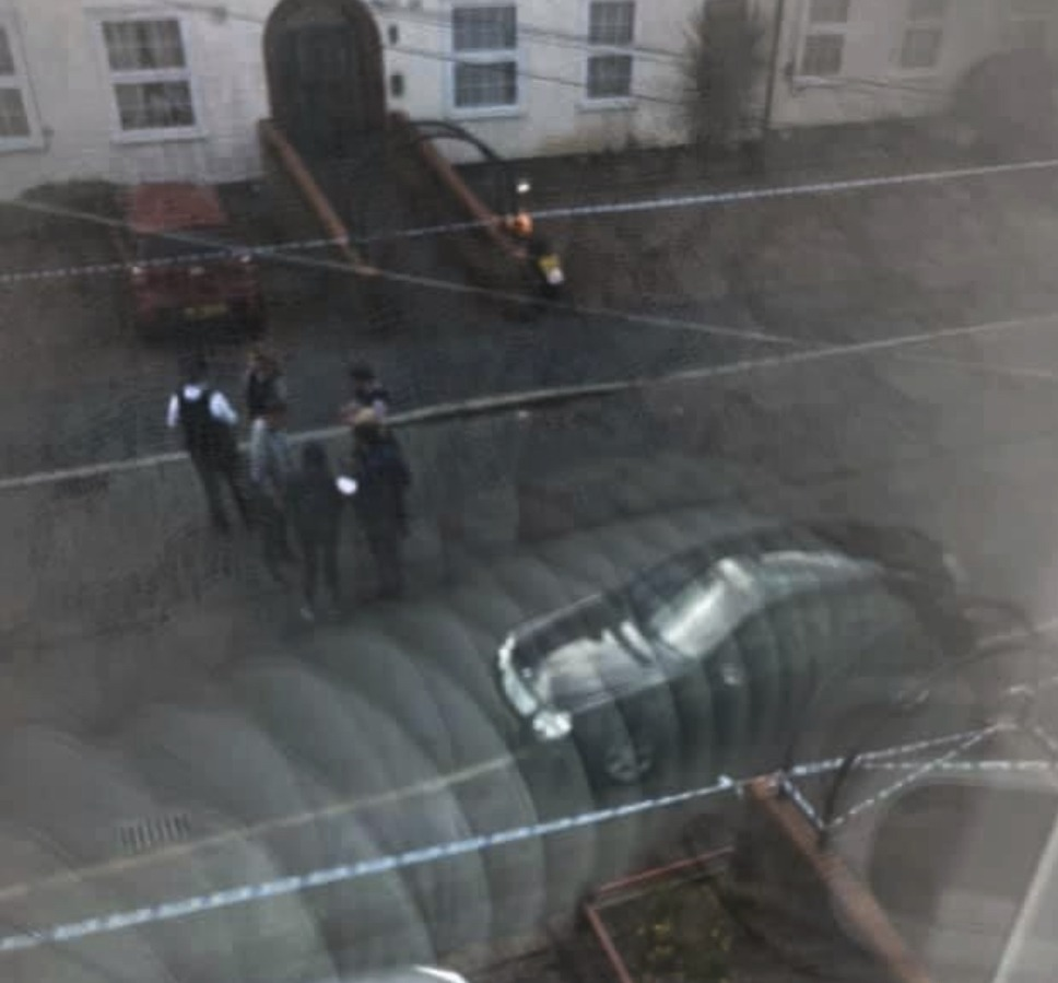 police called to reports of a shooting in south east london