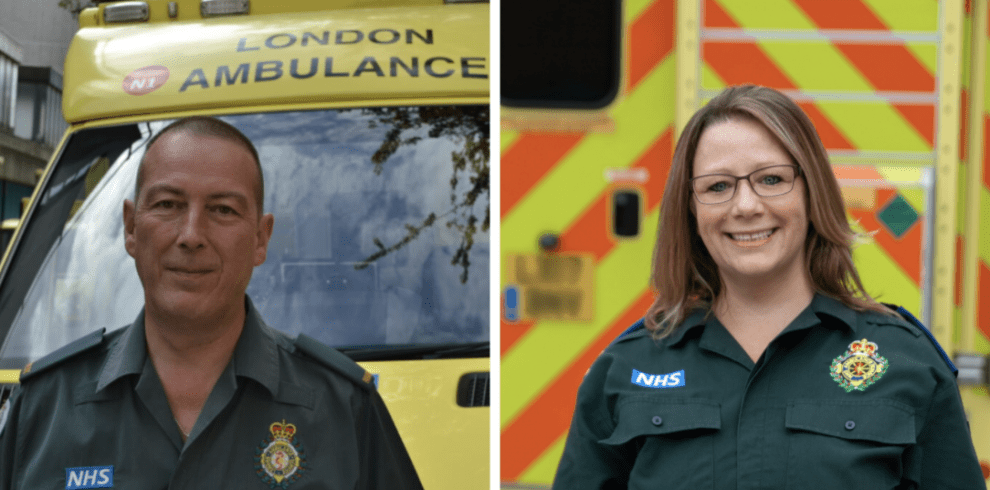 the london ambulance service las has recruited two new violence reduction officers as part of their ongoing work and commitment to protecting frontline staf