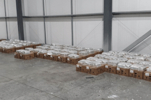 the operation has prevented a large amount of cocaine from making it on to our streets it estimate that once adulterated and sold it could have had a street value of up to 100 million