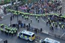 Twentypeople have been reported for consideration of £10,000 Fixed Penalty Notices following demonstrations in London