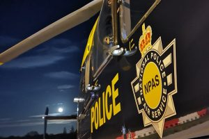 two fools from kent arrested after dazzling npas helicopter