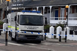 two men have been arrested after two imitation hand grenades in margate 2