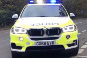 two people taken to hospital and a driver arrested for driving under the influence of drink and drugs after m2 collision